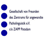 Gesellschaft von Freunden des Zentrums für angewandte Patholinguistik e.V.