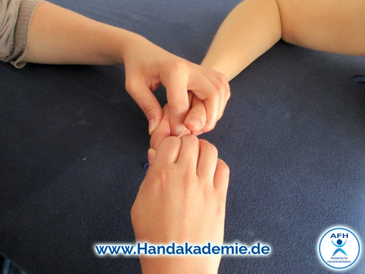 Handrehabilitation nach Standards der AFH \